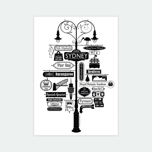 Best of Sydney Art Print