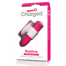 Load image into Gallery viewer, Charged Positive Rechargeable Vibe - Strawberry