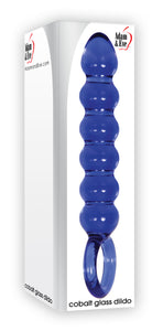 Cobalt Glass Dildo