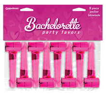 Load image into Gallery viewer, Bachelorette Party Favors 8 Piece Pecker Blowouts