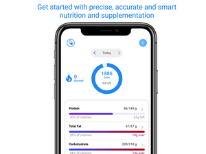 Bundle: Monthly App Subscription + DNA test kit - Access to Health reports, Gene Adjusted Nutrition, Food Lens & 1 Year Health Tracker Subscription Included