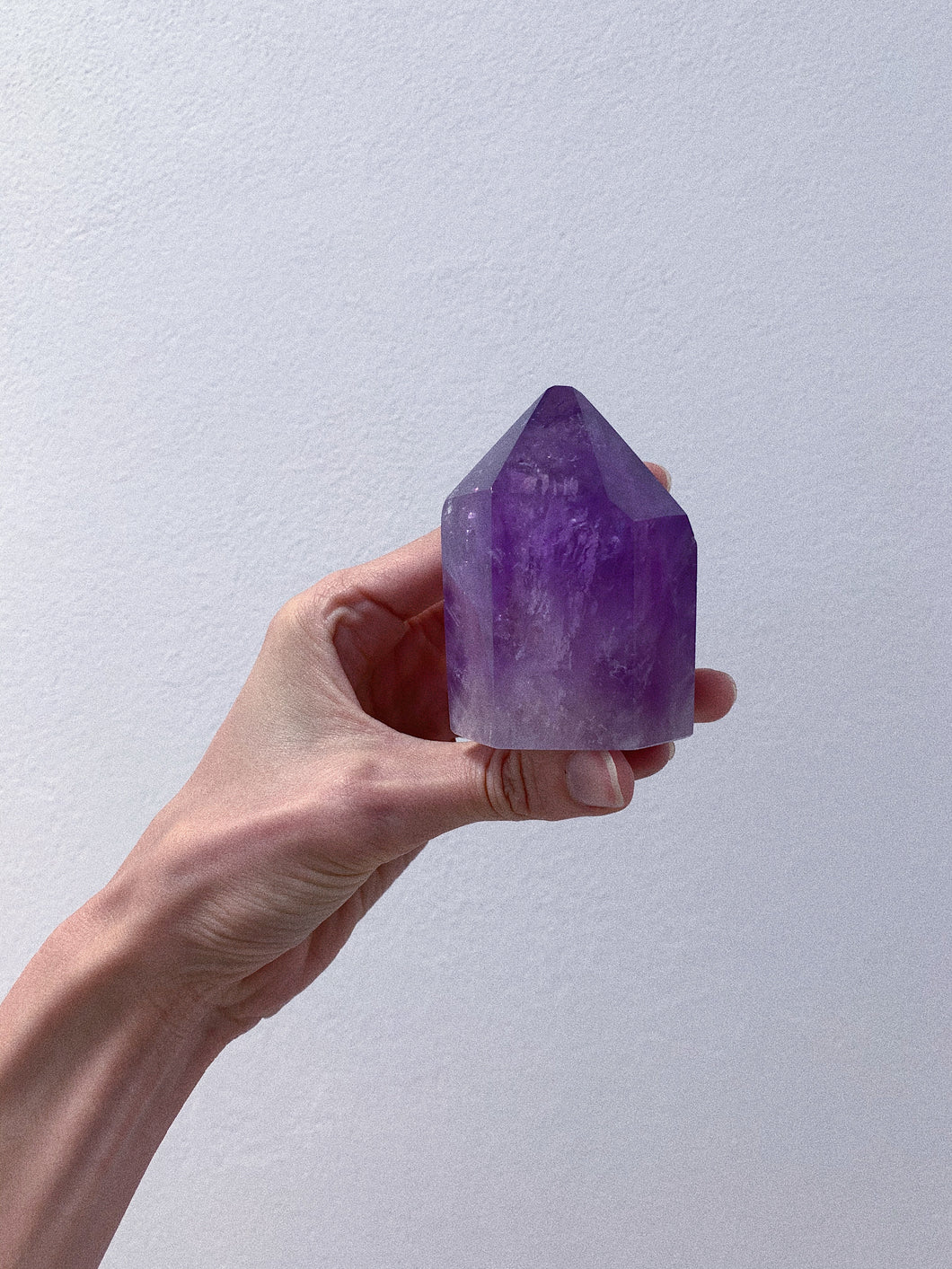 AAA GRADE Amethyst Polished Point (001)