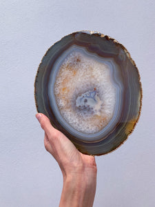 Gold Edged Agate Slab (E)