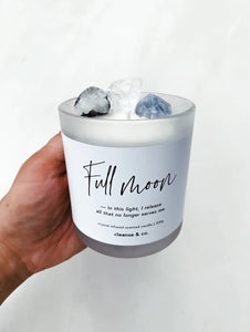Full Moon Candle 200gms