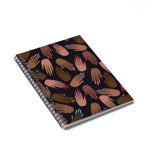 Open image in slideshow, Pro Nails Spiral Notebook