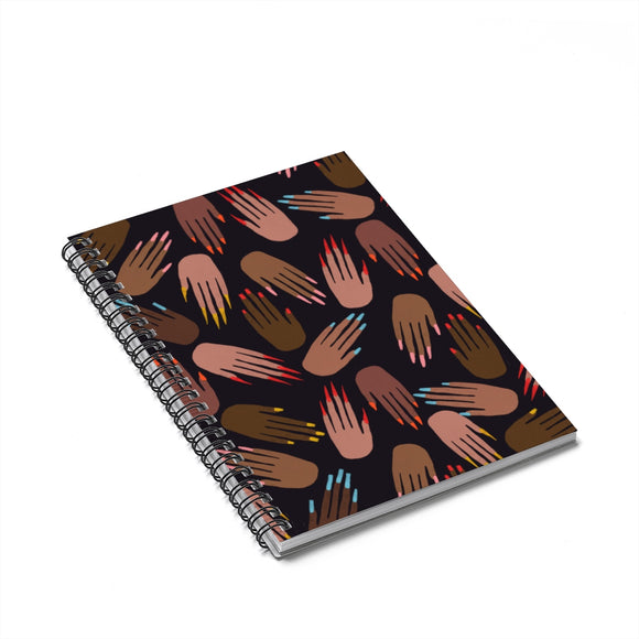 Pro Nails Spiral Notebook