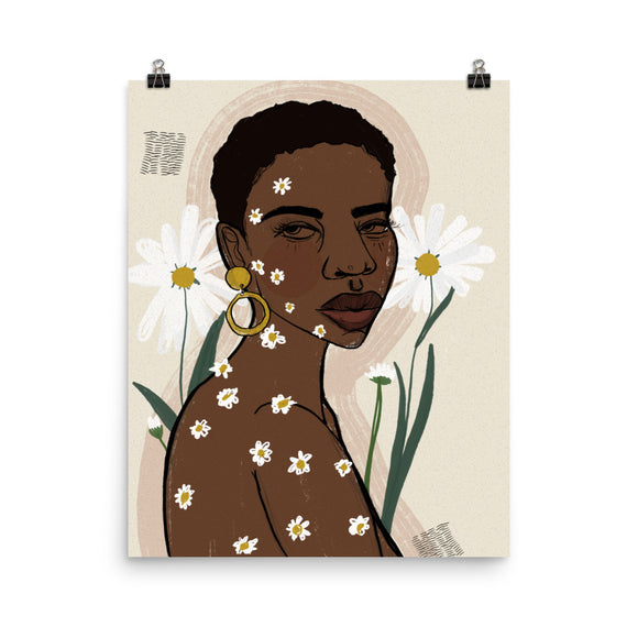 daisy dreams art print