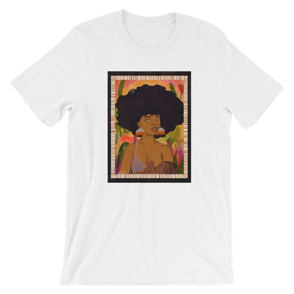 mother nature unisex tee