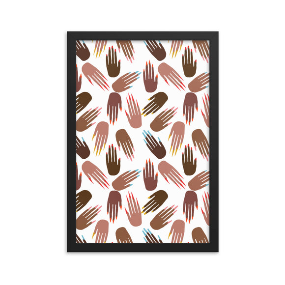 pronails framed print