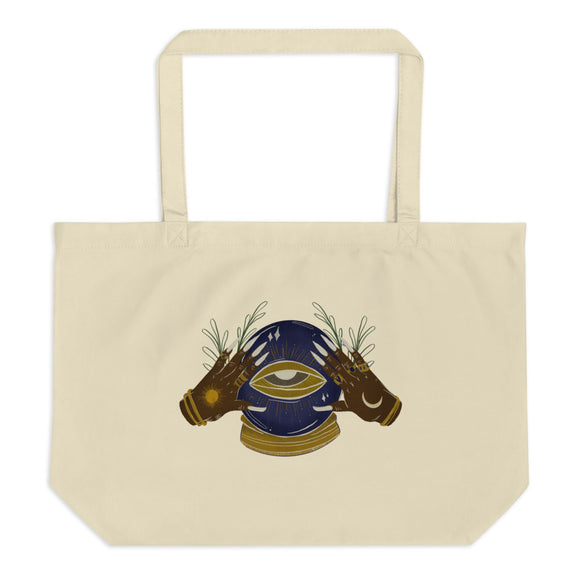 fortune organic tote bag