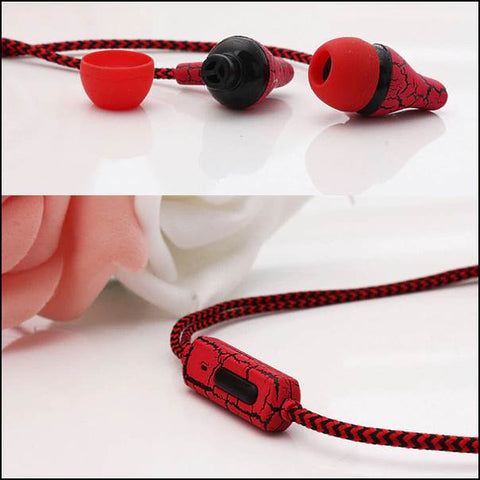 3.55mm-colourful-colorful-earphones-red