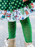 Mister Grinch Skirt Set
