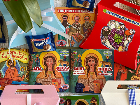 Saint Thekla – Equal to the Apostles – The Protomartyr – Purse – Greek cookie