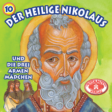Load image into Gallery viewer, 10 Paterikon for Kids - Saint Nicholas and the Three Poor Girls