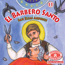 Load image into Gallery viewer, 11 Paterikon for Kids - The Barber Saint: Saint Elias Ardounis