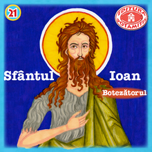 Load image into Gallery viewer, 21 Paterikon for Kids - Saint John the Forerunner