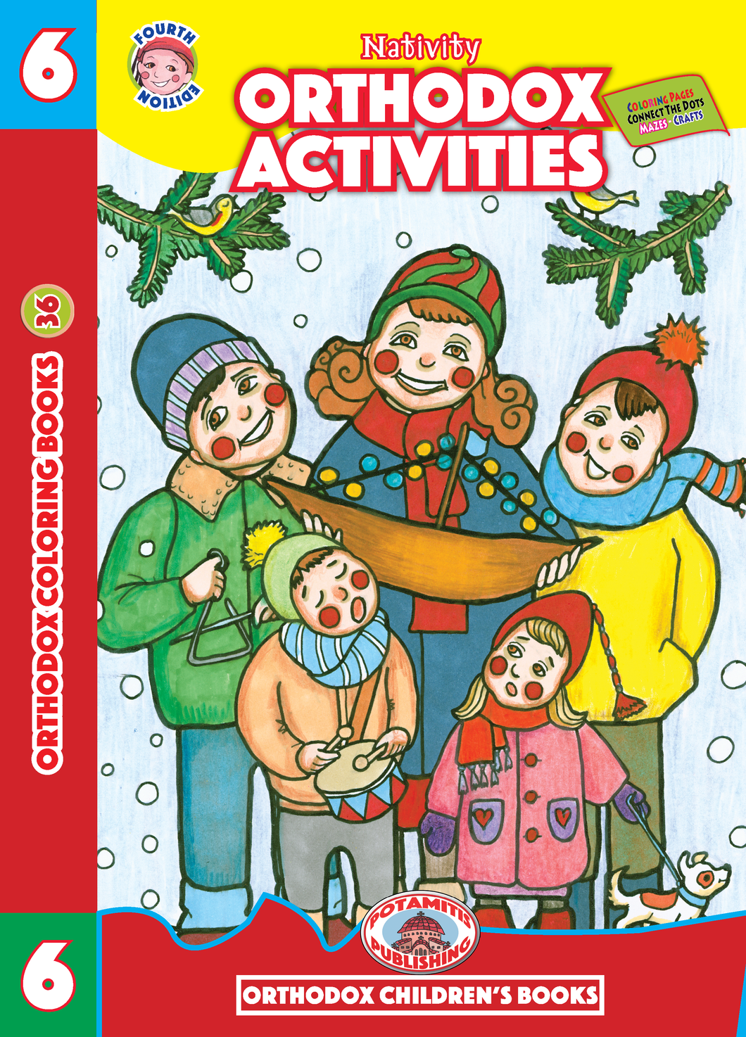 Orthodox Coloring Books #36 - Orthodox Activities #6