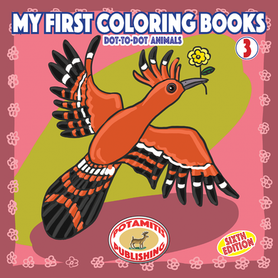 Orthodox Coloring Books #41 - My First Coloring Books #3 - Dot-to-dot Animals