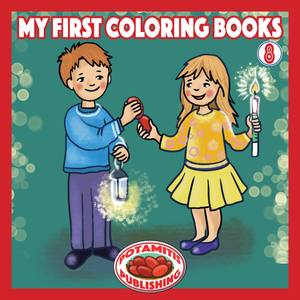 Orthodox Coloring Books #51 - My First Coloring Books #8 - Pascha