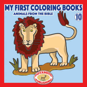 Orthodox Coloring Books #53 - My First Coloring Books #10 - Animals from the Bible