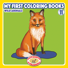 Load image into Gallery viewer, Orthodox Coloring Books #54 - My First Coloring Books #11 - Wild Animals