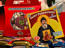 Load image into Gallery viewer, 58 - Paterikon for Kids - Saint Porphyrios