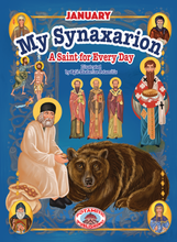 "Load image into Gallery viewer, PREORDER – My Synaxarion – ""A Saint for Every Day"" – JANUARY"