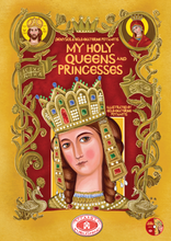 "Load image into Gallery viewer, NEW! Great Combo - ""My Holy Queens and Princesses"" & ""My Warrior Saints"" - Discount & Free Shipping"