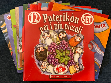 Paterikon for Kids - Italian/Italiano (vol. 1-12)