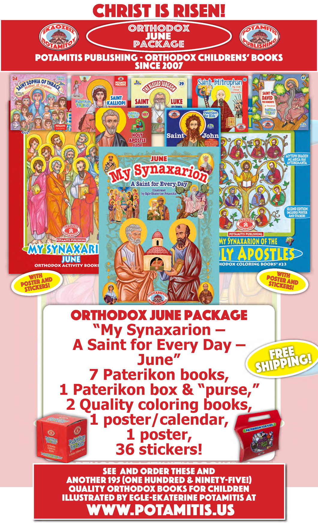 Orthodox June Package
