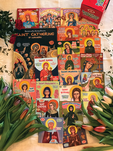 Orthodox Women Saints - a unique collection!