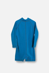 One Piece Rashguard Suit - Ocean Blue