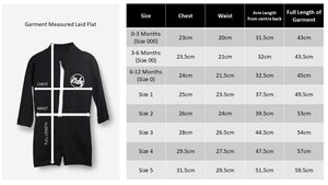One Piece Rashguard Suit - Black