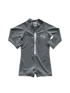 One Piece Rashguard Suit - Storm Grey