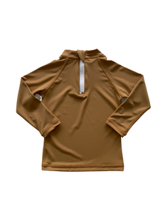 Rashguard Top - Golden Mustard