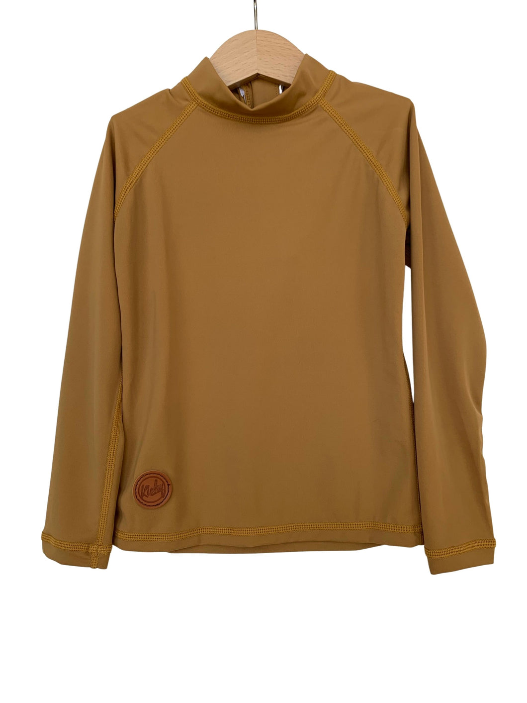 NEW Rashguard Top - Golden Mustard
