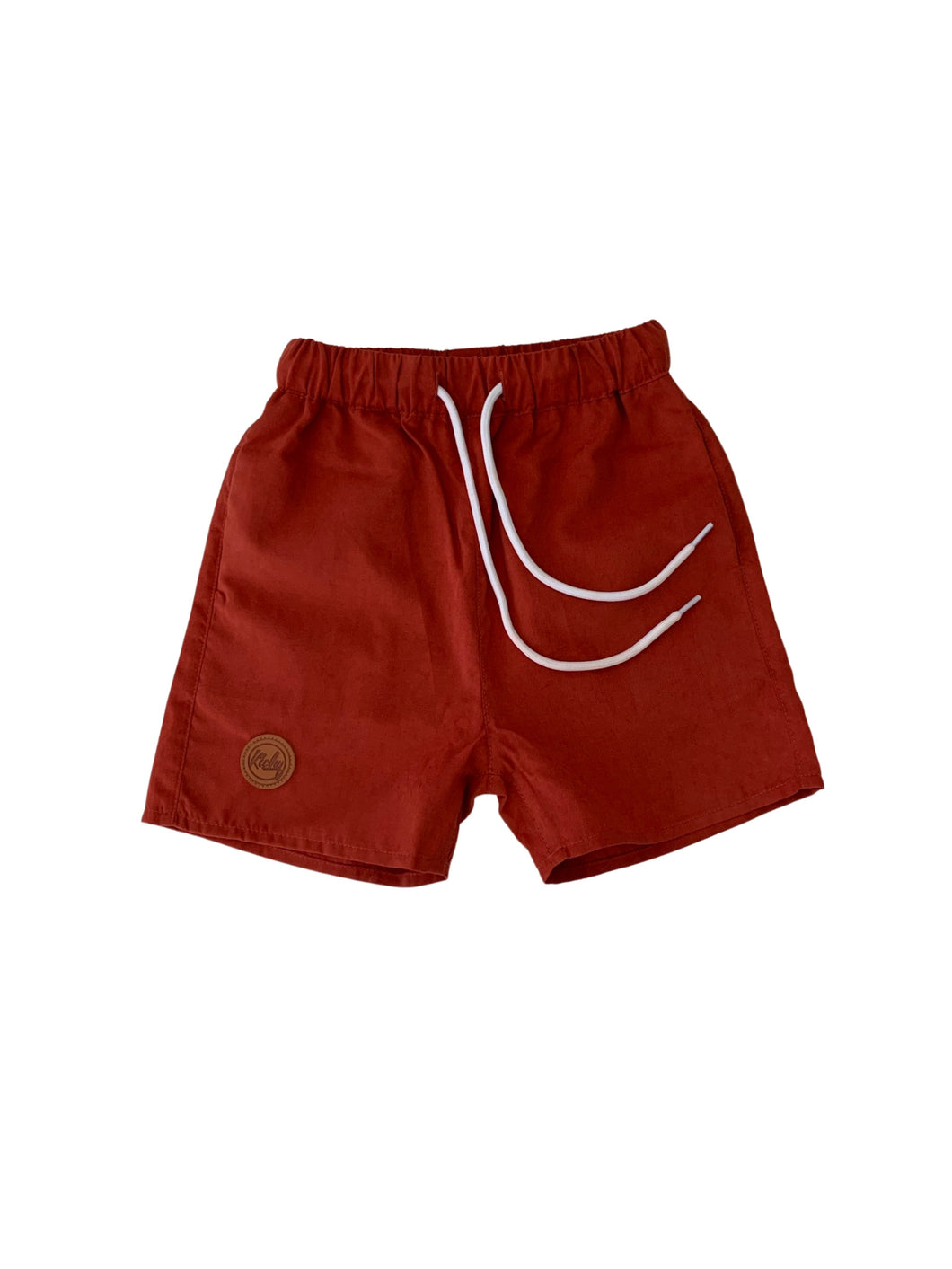 Board Shorts - Rust Red