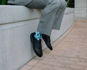 ZETONE Plain-Toe, Black Smooth
