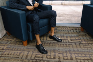 FER Cap-Toe Oxford, Black Smooth