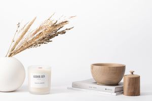 Ardor Bin Wood Wick Botanical Candles