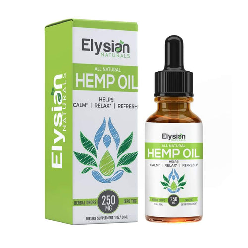 All Natural Hemp Oil - Natural