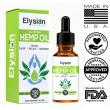 Load image into Gallery viewer, All Natural Hemp Oil - Natural
