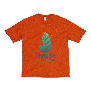 Mens Heather Dri-Fit Tee - Deep Orange Heather / Xs - T-Shirt