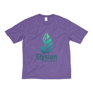 Mens Heather Dri-Fit Tee - Purple Heather / Xs - T-Shirt