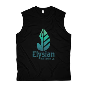 Mens Sleeveless Performance Tee - Black / Xs - Tank Top