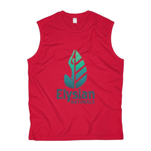 Mens Sleeveless Performance Tee - True Red / Xs - Tank Top