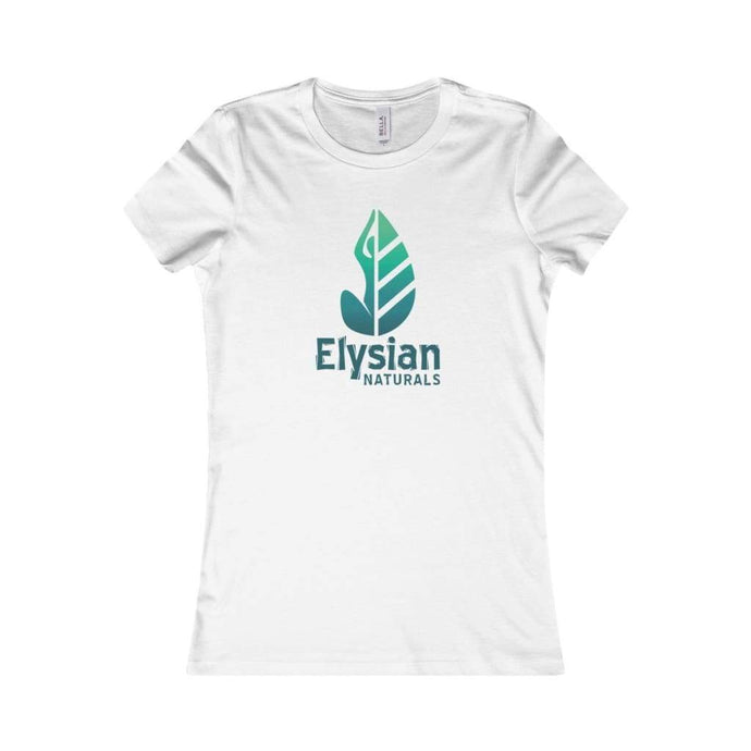 Womens Favorite Tee - White / L - T-Shirt