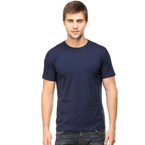 Men Half Sleeve T Shirt 2: Pick any size and color of your choice - leavf