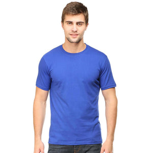 Men Half Sleeve T Shirt 1: Pick any size and color of your choice - leavf