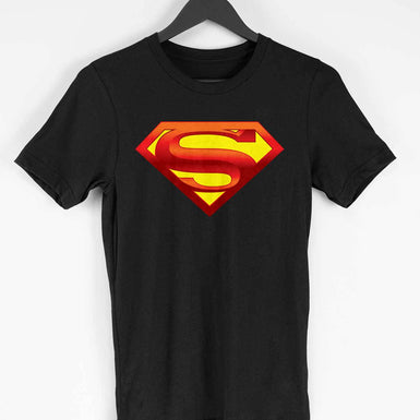 Superman T-shirts: Graphic Superman Logo printed T Shirts For Men - leavf